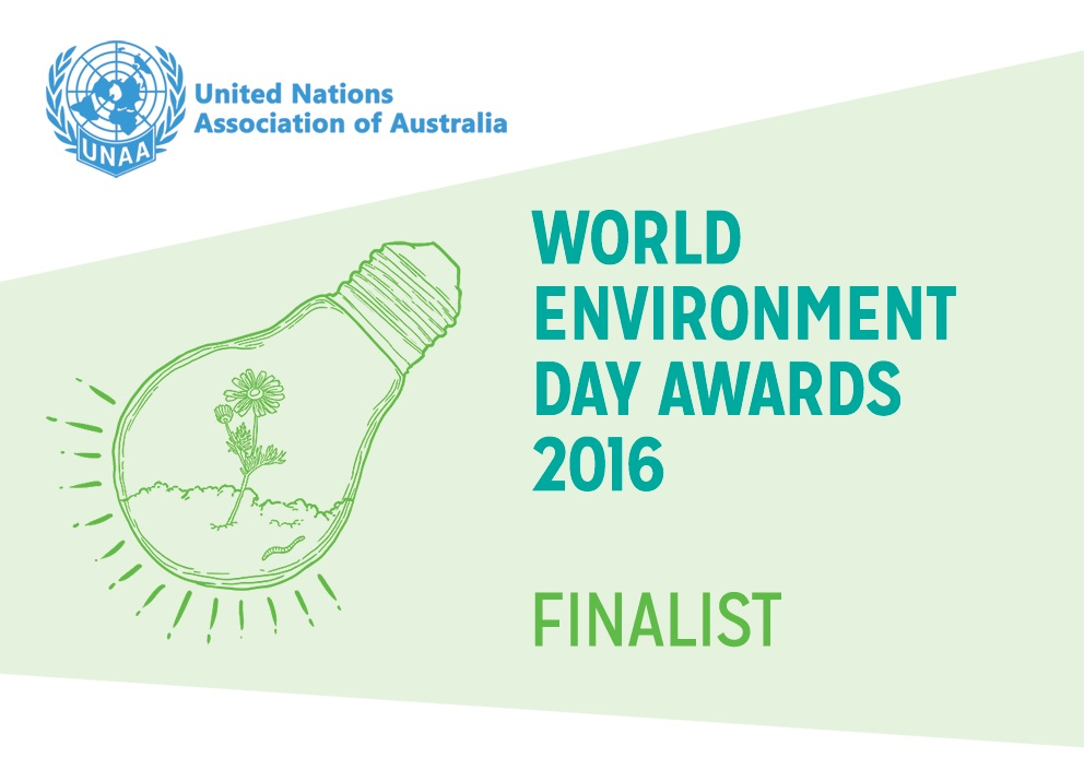United Nations Association of Australia World Environment Day Awards, Community Award (Category Finalist), 2016