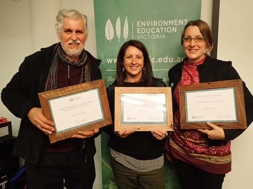 Environmental Education Excellence Award 2017 April Seymore