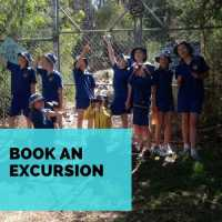 Book an excursion button